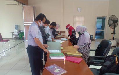 Penandatanganan Kontrak Penelitian dan Pengabdian Kepada Masyarakat Yang Diselenggarakan Oleh UP3MP Fakultas Teknik UNIB Tahun 2020