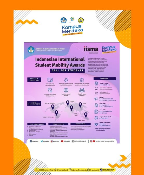Call for Students :  Indonesian International Student Mobility Awards