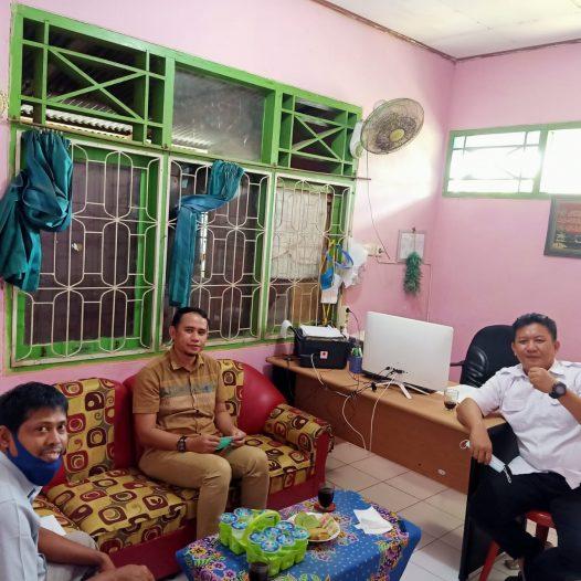 Diskusi Rencana kegiatan Pengabdian kepada masyarakat di Kelurahan Sawah lebar Baru