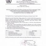 SE Dekan tentang Jadwal Belajar Mengajar Selama Masa Libur Idul Fitri 1422H Sampai UAS