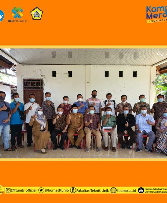 Kegiatan Koordinasi Pengabdian Kepada Masyarakat Tematik Fakultas Teknik Universitas Bengkulu di Kelurahan Sawah Lebar Baru