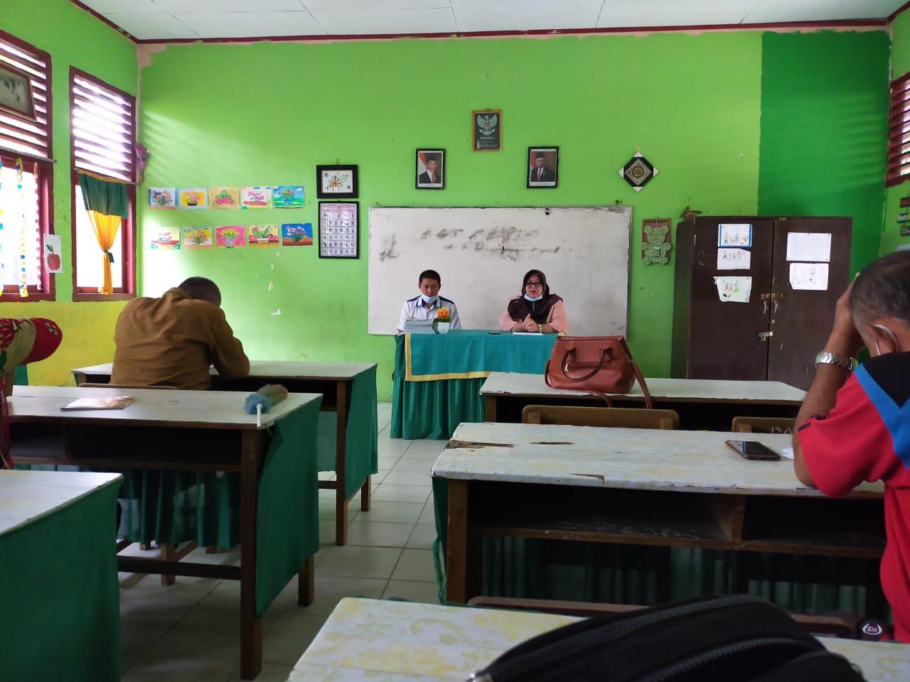 Tim PkM Teknik Mesin UNIB Gelar Sosialisasi Persiapan Pembelajaran Tatap Muka di SD Negeri 03 Kota Bengkulu