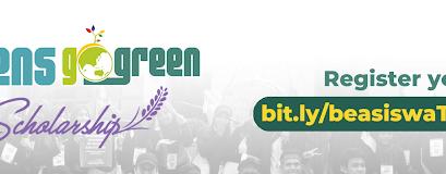 Yuk Daftar Beasiswa Teens Go Green 2021!