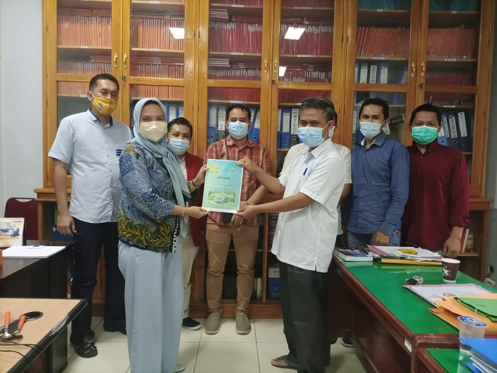Audit Mutu Internal (AMI) Fakultas Teknik Universitas Bengkulu Tahun 2021
