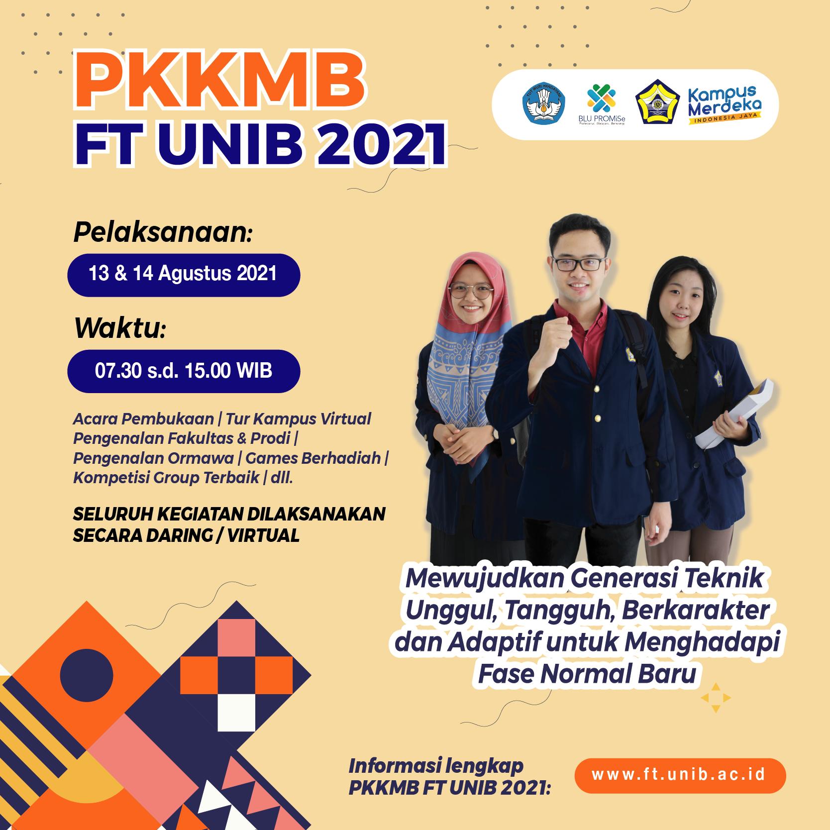 Panduan PKKMB FT UNIB 2021